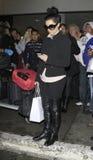 Schauspielerin singerKim Kardashian an LOCKEREM Stockbilder