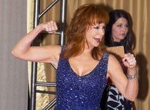 Schauspielerin und Sänger Reba McEntire lizenzfreies stockfoto