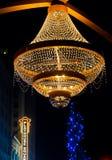 Schauspielhaus-Leuchter Stockbild