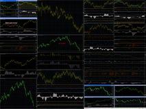 Schauzeichen von Verkäufen des Geldes und des Bargeldes lizenzfreie abbildung
