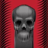 Schädel-Kunst Stockbild