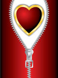 Scheda 13 di giorno del biglietto di S. Valentino Fotografie Stock Libere da Diritti