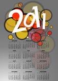 scheda 2011 bella Fotografia Stock