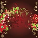 Scheda astratta di inverno con il posto per il vostro testo Royalty Illustrazione gratis
