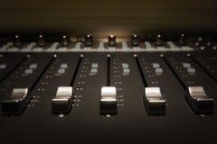 Scheda audio Fotografia Stock Libera da Diritti