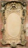 Scheda barrocco di bas-relief Immagine Stock