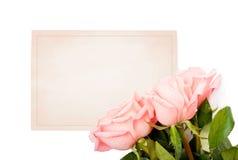 Scheda in bianco per le congratulazioni fotografia stock libera da diritti