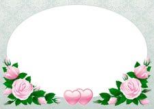 Scheda dei biglietti di S. Valentino Immagine Stock Libera da Diritti