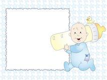 Scheda del bambino illustrazione vettoriale