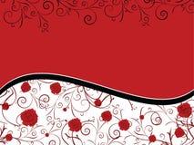 Scheda del biglietto di S. Valentino Immagini Stock