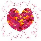 Scheda del biglietto di S. Valentino di vettore Royalty Illustrazione gratis