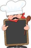 Scheda del cuoco unico Fotografie Stock Libere da Diritti