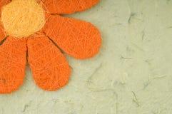 Scheda del fiore Immagini Stock