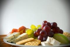 Scheda del formaggio Immagine Stock