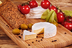 Scheda del formaggio immagini stock