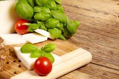 Scheda del formaggio Fotografia Stock