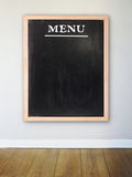 Scheda del menu fotografia stock libera da diritti