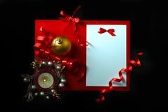 Scheda del nuovo anno Immagine Stock Libera da Diritti