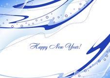 Scheda del nuovo anno royalty illustrazione gratis