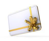 Scheda del regalo Fotografia Stock Libera da Diritti