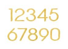 Scheda del sughero del segno di parola di ABC di numero di alfabeto Immagine Stock