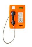 Scheda del telefono pubblico in Tailandia Fotografia Stock