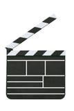 Scheda dell'ardesia del Direttore fotografie stock libere da diritti