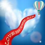 Scheda dell'invito di cerimonia nuziale ENV 10 illustrazione di stock