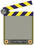 Scheda della pellicola. illustrazione vettoriale