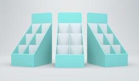 scheda della visualizzazione 3D Fotografie Stock