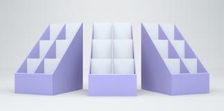 scheda della visualizzazione 3D Fotografia Stock Libera da Diritti