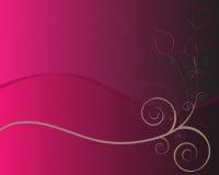 Scheda delle rose del biglietto di S. Valentino Fotografie Stock Libere da Diritti
