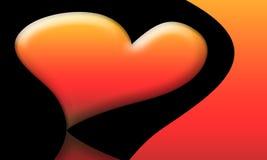 Scheda di amore del biglietto di S. Valentino (05) Fotografia Stock Libera da Diritti