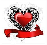 Scheda di amore. Giorno del biglietto di S. Valentino Fotografia Stock Libera da Diritti