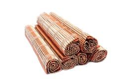 Scheda di bambù Fotografie Stock Libere da Diritti