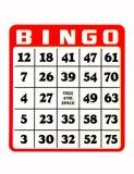 Scheda di Bingo