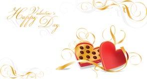 Scheda di celebrazione dei biglietti di S. Valentino illustrazione vettoriale