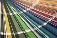 Scheda di colore Fotografia Stock
