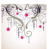 Scheda di figura di amore della flora royalty illustrazione gratis