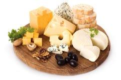 Scheda di formaggio Immagine Stock Libera da Diritti