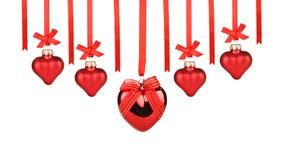 Scheda di giorno dei biglietti di S. Valentino Fotografie Stock Libere da Diritti