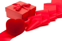Scheda di giorno del biglietto di S. Valentino Immagine Stock Libera da Diritti