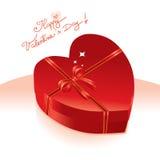 Scheda di giorno del biglietto di S. Valentino illustrazione vettoriale