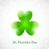 Scheda di giorno della st Patricks Fotografia Stock