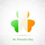 Scheda di giorno della st Patricks Fotografia Stock Libera da Diritti