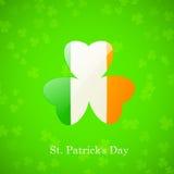 Scheda di giorno della st Patricks Immagini Stock Libere da Diritti