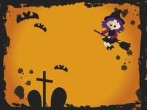 Scheda di Halloween Immagini Stock
