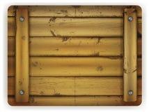 Scheda di legno Fotografia Stock