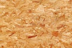 Scheda di legno appiattita riciclata delle scalpellature Fotografie Stock Libere da Diritti