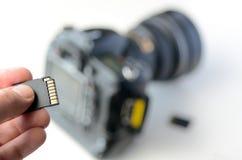 Scheda di memoria - flash card Fotografia Stock Libera da Diritti